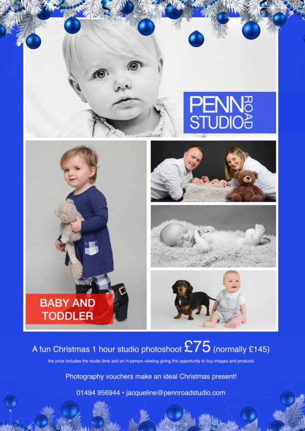 Baby & Toddler Photography <br>Seasonal Promotional Offer